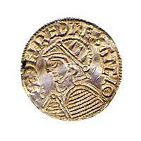 Coin of King Æthelred the Unready