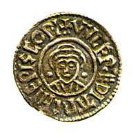 Coin of Archbishop Wulfred of Canterbury; legend VVLFREDI ARCHIEPISCOPI